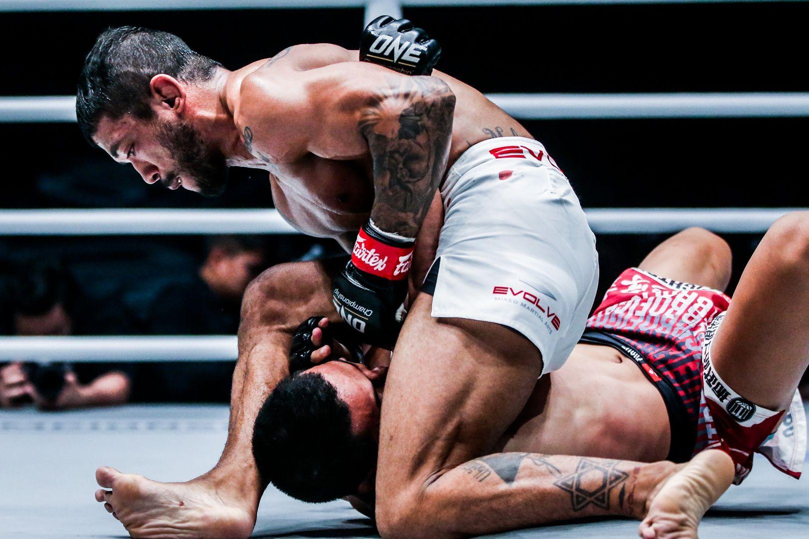 "Brazilian Jiu-Jitsu black belt Alex ""Little Rock"" Silva"