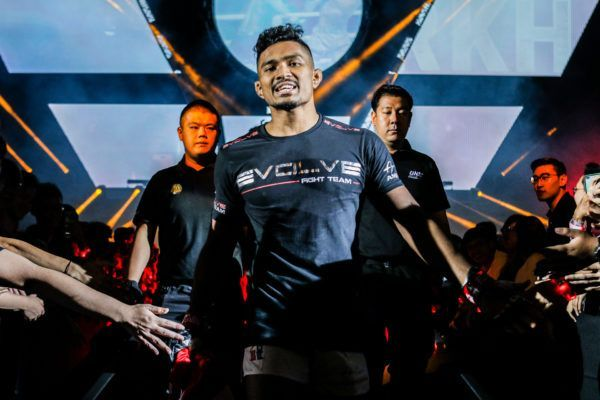 Singaporean martial arts hero Amir Khan
