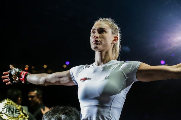 Multiple-time Karate World Champion Colbey Northcutt gets ready to make her debut
