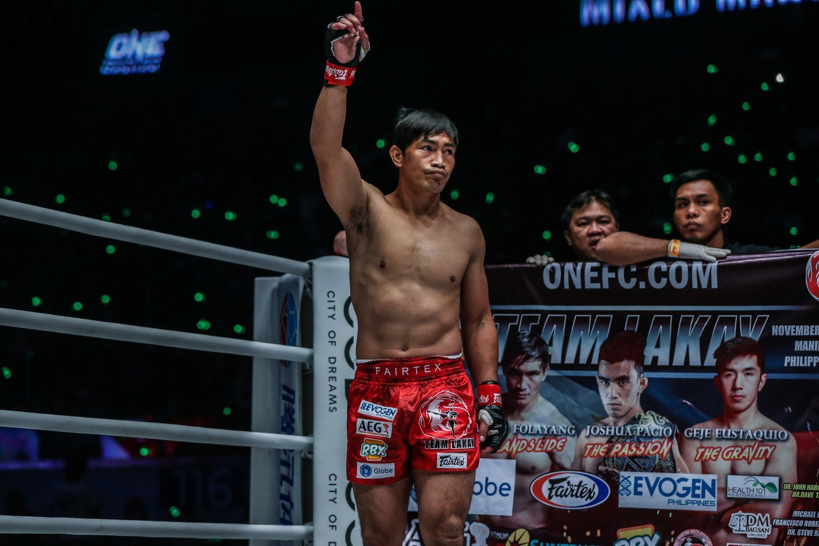 Filipino icon Eduard Folayang returns to action in November 2019
