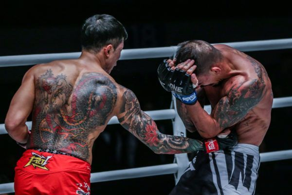 Kim Jae Woong vs. Rafael Nunes at ONE: MASTERS OF FATE in Manila, Philippines