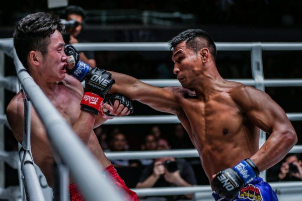 Han Zi Hao vs. Kongsak PK.Saenchaimuaythaigym at ONE: MASTERS OF FATE in Manila, Philippines