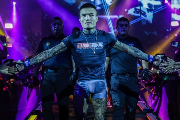 Li Kai Wen prepares for battle at ONE: MASTERS OF FATE in Manila, Philippines