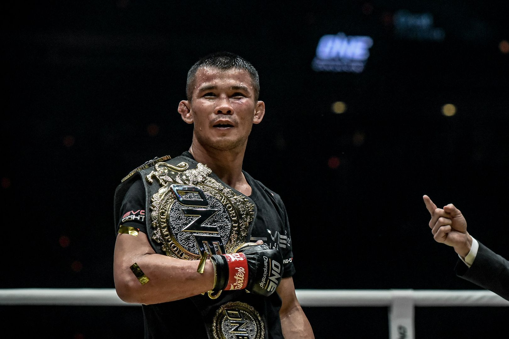 ONE Bantanweight Muay Thai World Champion Nong-O Gaiyanghadao at ONE EDGE OF GREATNESS