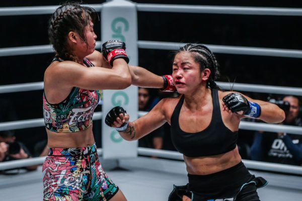 Stamp Fairtex vs. Bi Nguyen at ONE: MASTERS OF FATE in Manila, Philippines