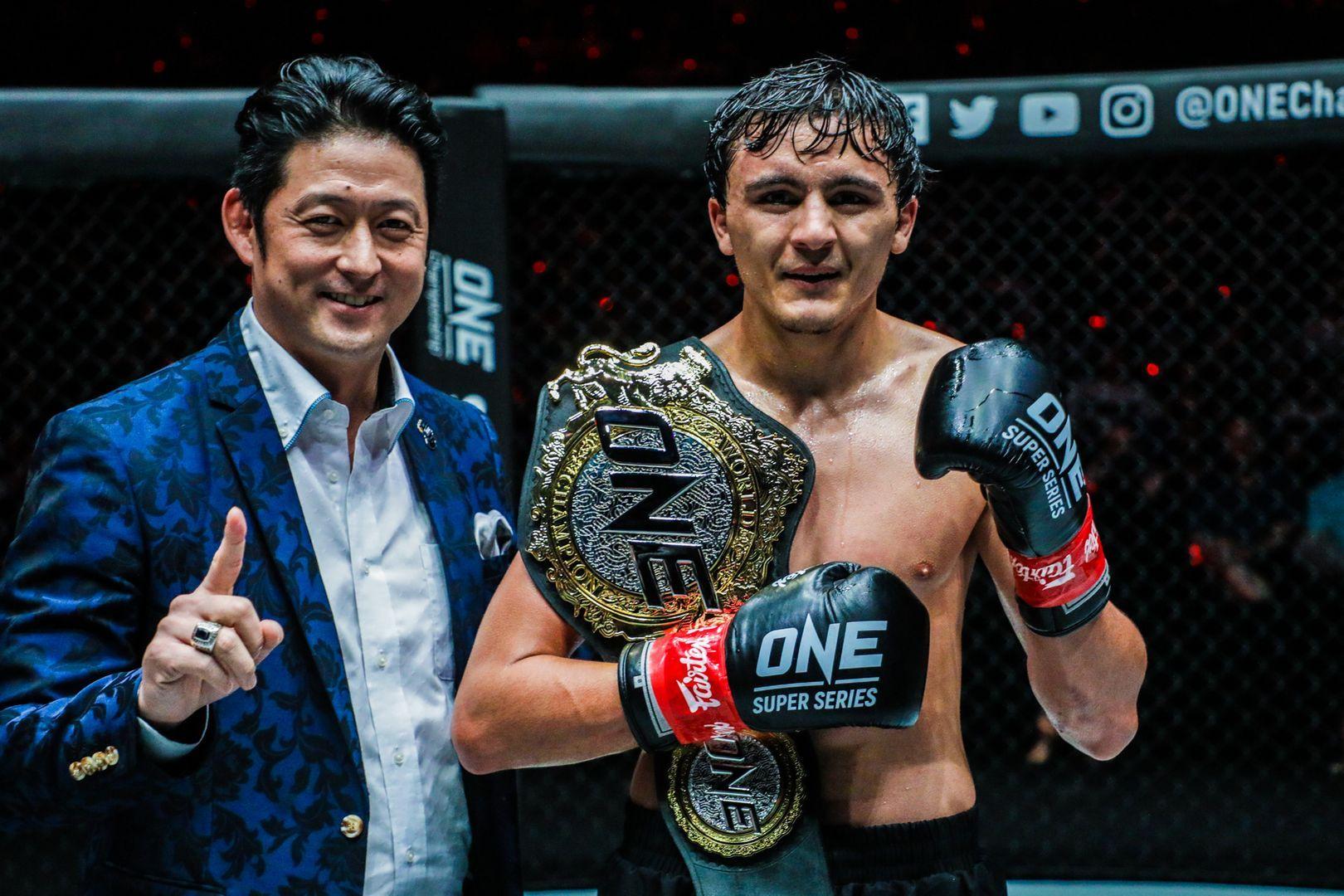 ONE Bantamweight Kickboxing World Champion Alaverdi Ramazanov