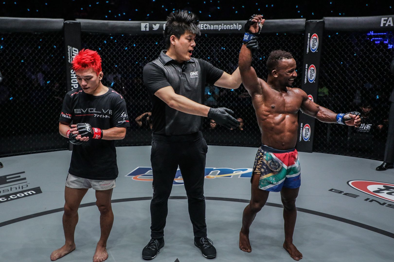 Bokang Masunyane defeats Ryuto Sawada at ONE MARK OF GREATNESS
