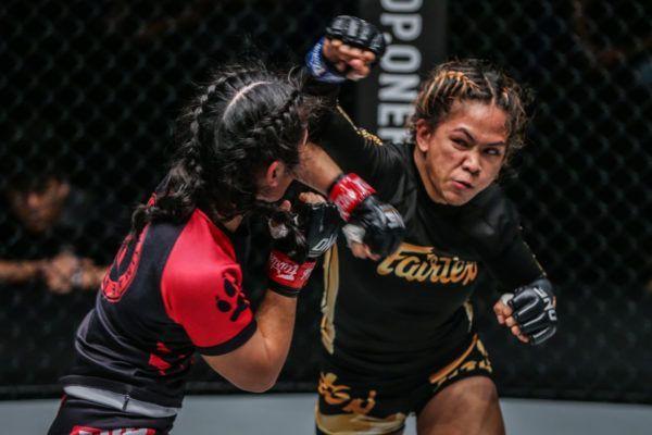 Denice Zamboanga defeats Jihin Radzuan at ONE MARK OF GREATNESS