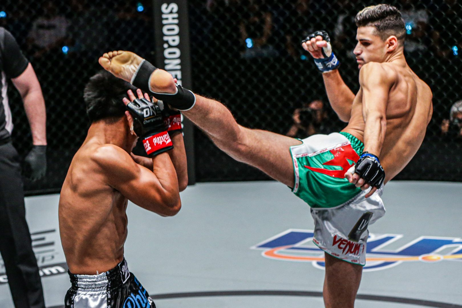 Elias Mahmoudi defeats Lerdsila Phuket Top Team at ONE MARK OF GREATNESS