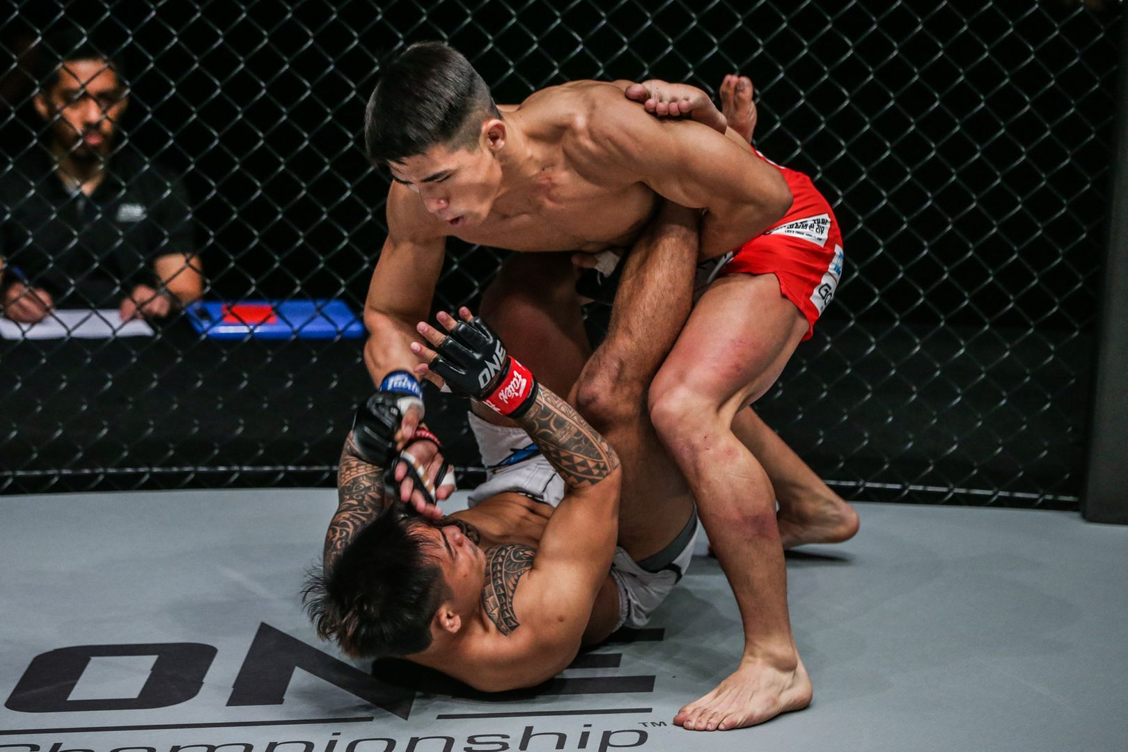 South Korea's Yoon Chang Min unleashes ground and pound