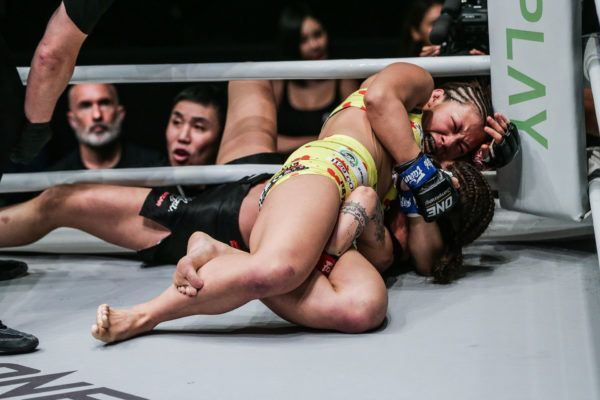 Ayaka Miura defeats Maira Mazar at ONE A NEW TOMORROW