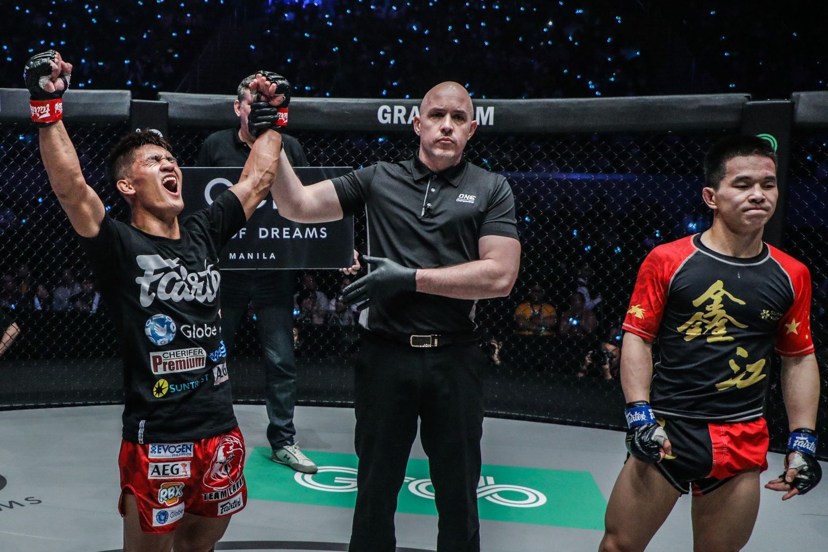 Danny Kingad defeats Xie Wei ONE FIRE & FURY