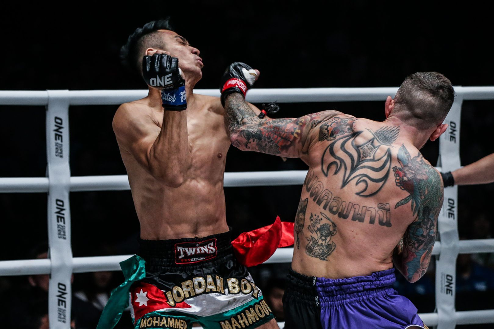 Liam Harrison defeats Mohammed Bin Mahmoud at ONE A NEW TOMORROW in Bangkok