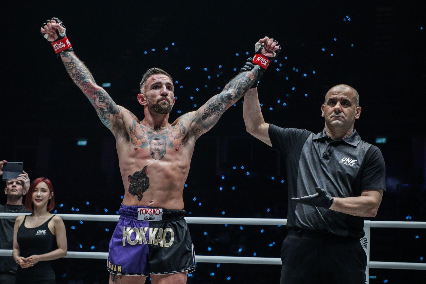 Liam Harrison defeats VS Mohammed Bin Mahmoud at ONE A NEW TOMORROW