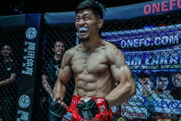 Philippine mixed martial artist Lito Adiwang is ready for war in the Circle!