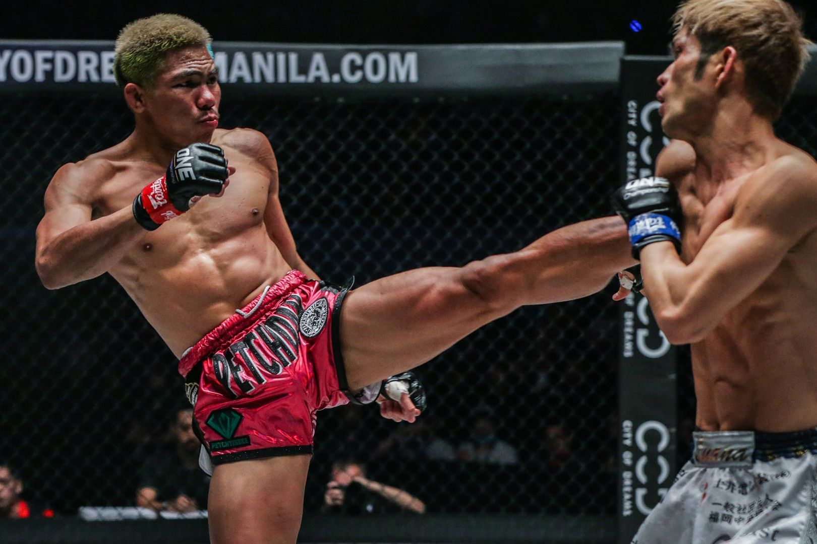 Petchdam Petchyindee Academy defeats Momotaro ONE FIRE & FURY in Manila