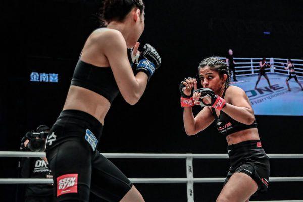 Ritu Phogat makes her MMA debut against Nam Hee Kim
