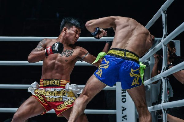 ONE Flyweight Muay Thai World Champion Rodtang Jitmuangnon goes for the knockout blow