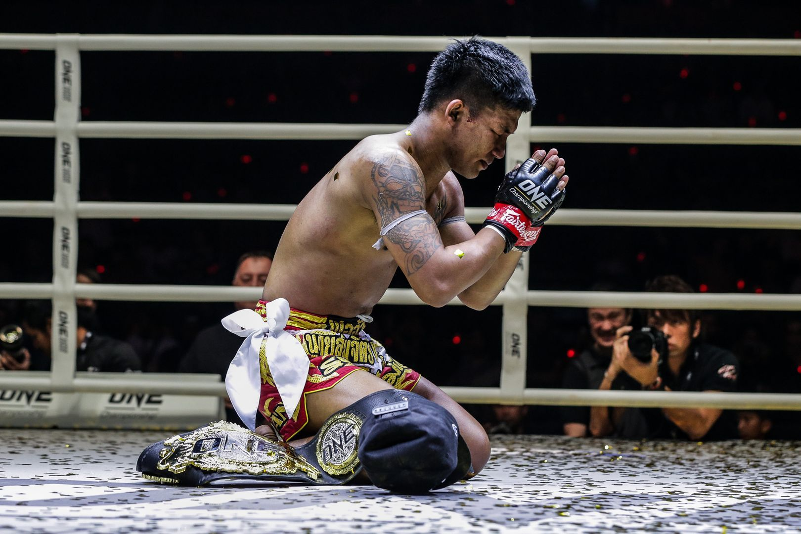 ONE Flyweight Muay Thai World Champion Rodtang Jitmuangnon is thankful following his big title win