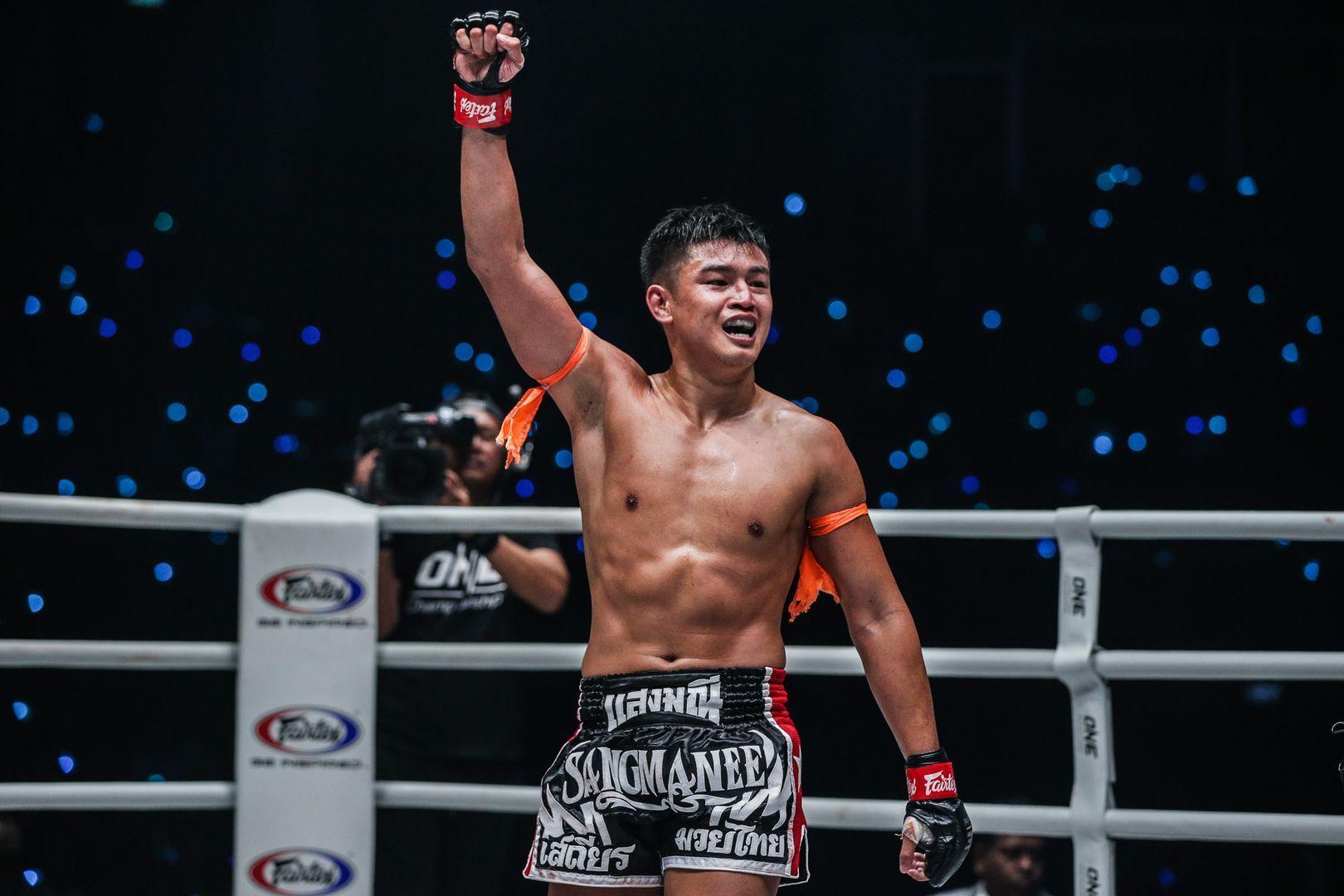 Sangmanee Sathian MuayThai defeats Kenta Yamada at ONE A NEW TOMORROW