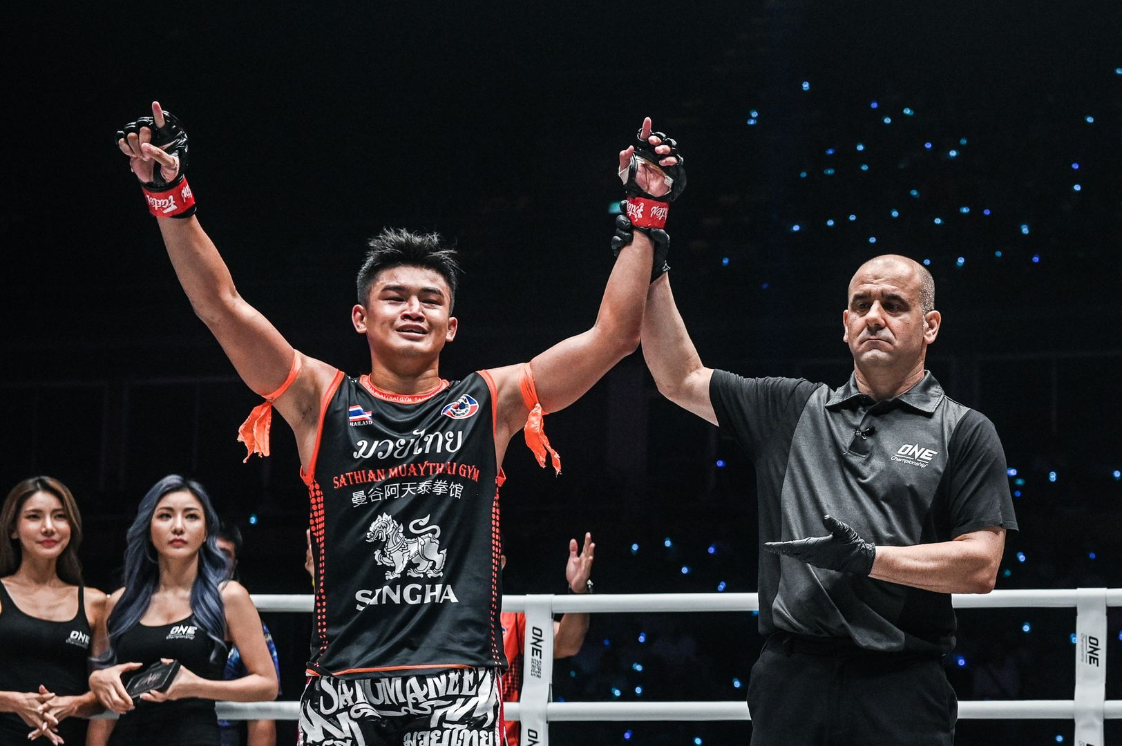 Sangmanee Sathian MuayThai defeats Kenta Yamada at ONE A NEW TOMORROW