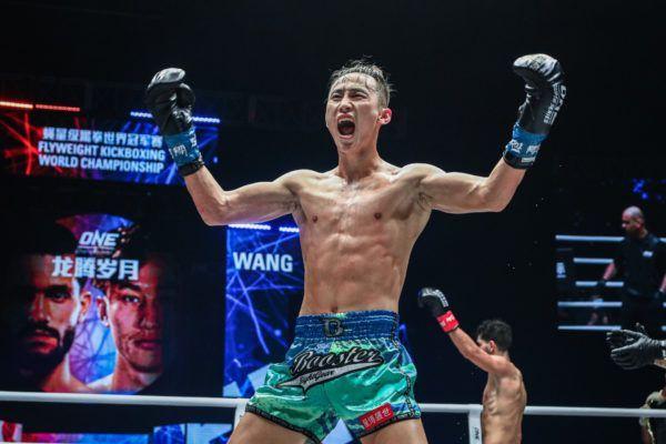 Chinese kickboxer Wang Wenfeng