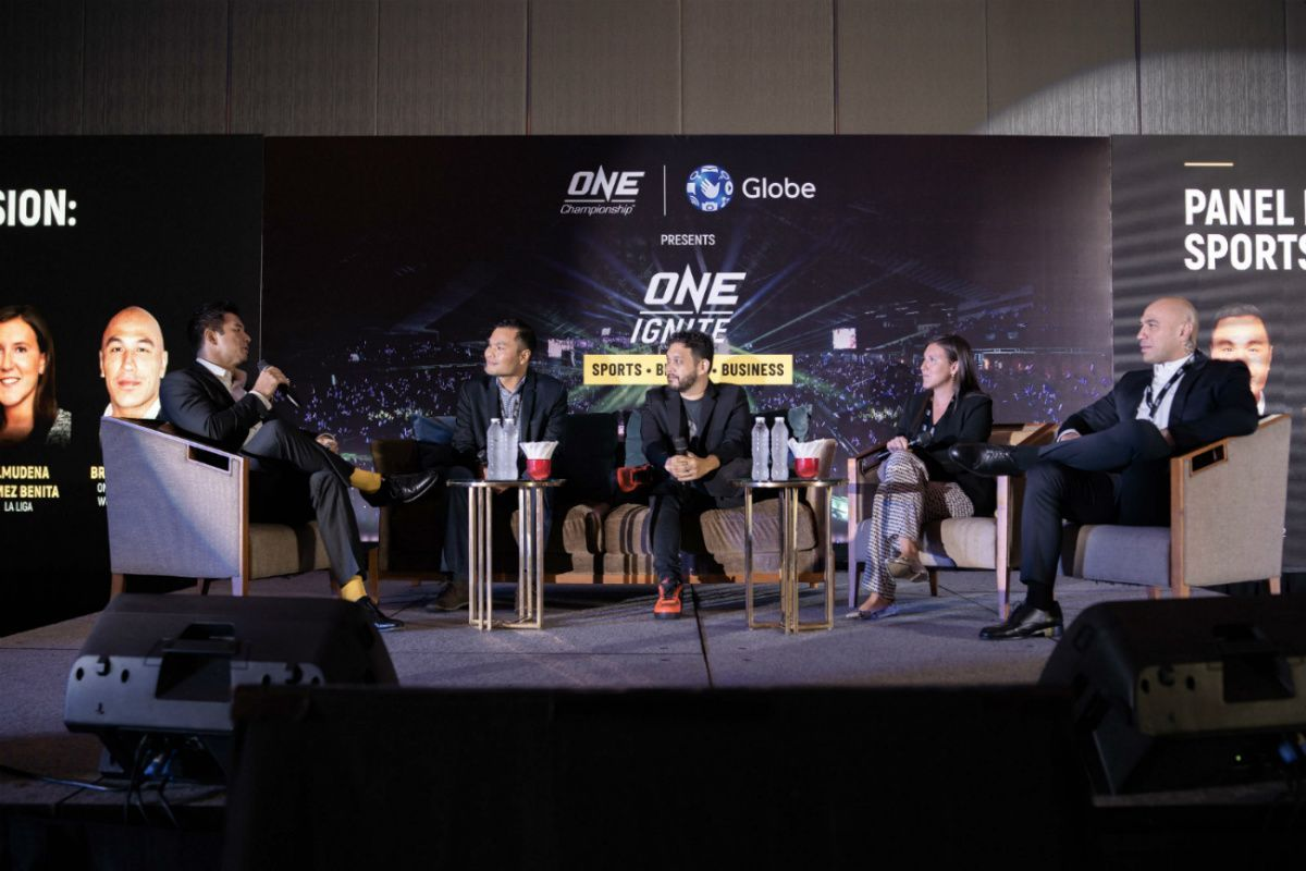 Brandon Vera, Dom Lau, and others participate at the ONE Ignite event