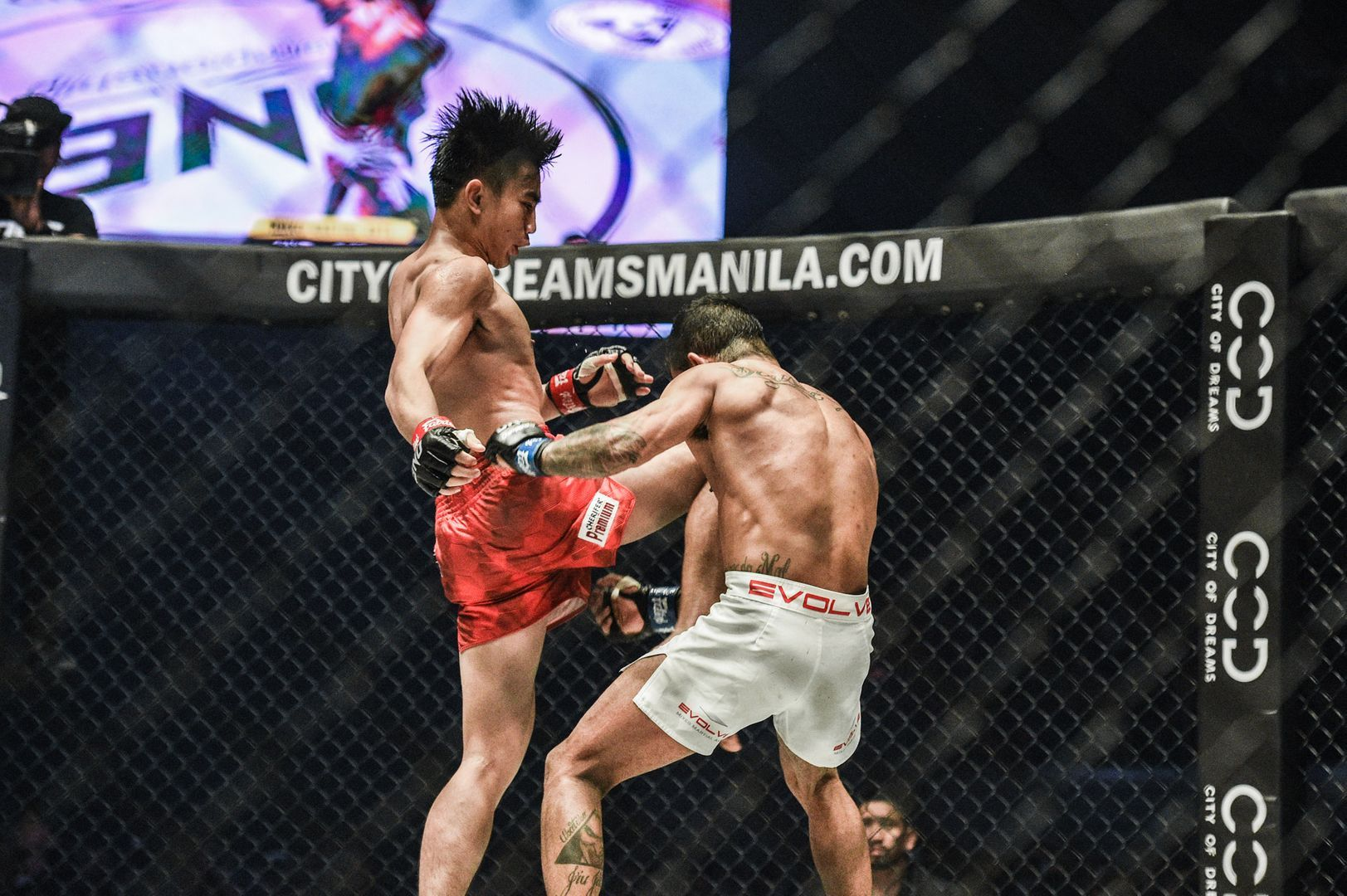 Joshua Pacio defeats Alex Silva ONE FIRE & FURY