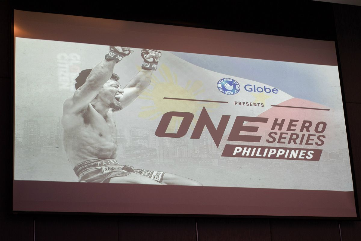 The logo for ONE Hero Series Philippines presented for the first time