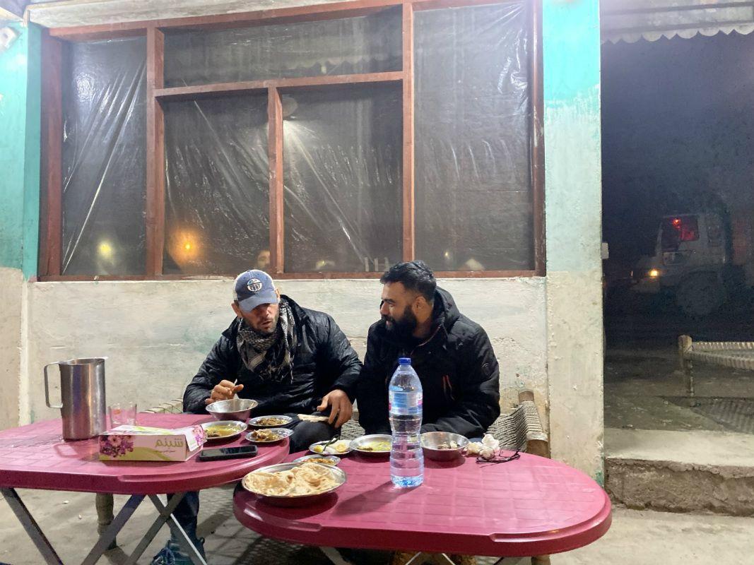 Rich Franklin and Bashir Ahmad in Pakistan