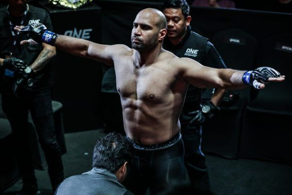 "ONE Championship welterweight mixed martial artist Sherif ""The Shark"" Mohamed"