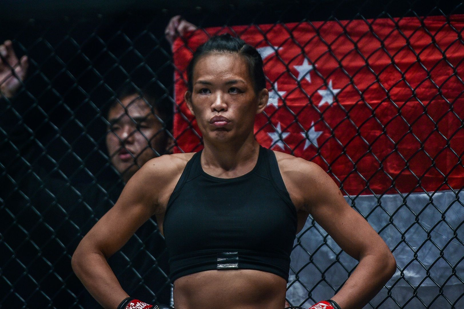 Singaporean martial artist Tiffany Teo is ready for action