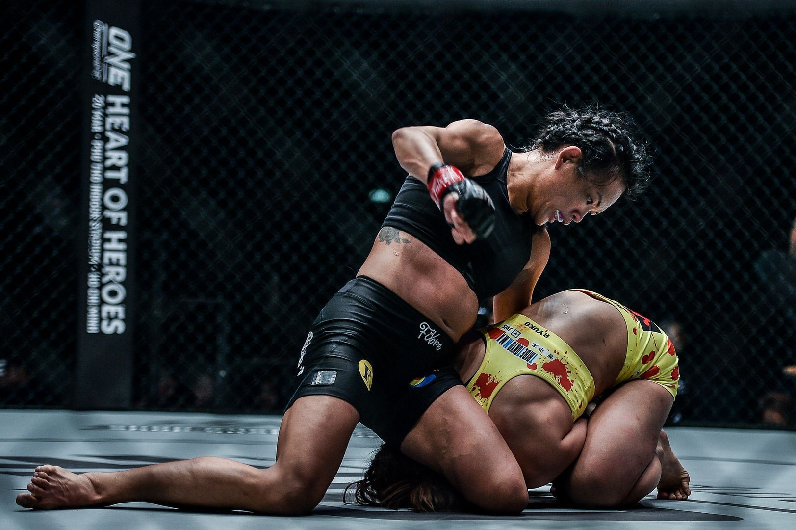 Tiffany Teo defeats Ayaka Miura ONE KING OF THE JUNGLE