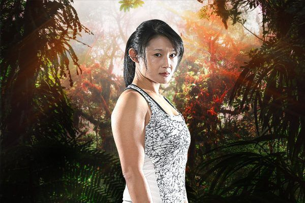 "ONE mixed martial artist ""Miss Red"" Wu Chiao Chen"