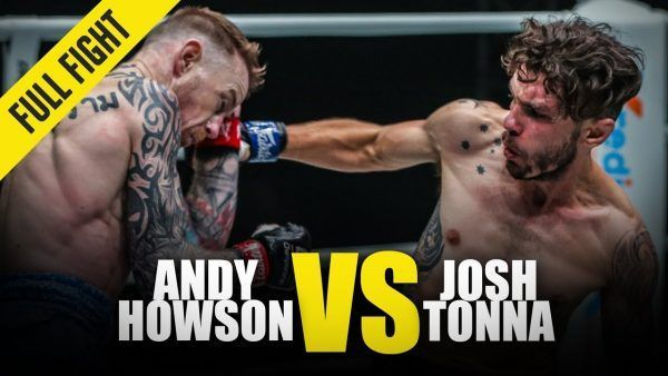 Josh Tonna's aggression proved to effective in his second-round TKO performance against Andy Howson at ONE: WARRIOR'S CODE.
