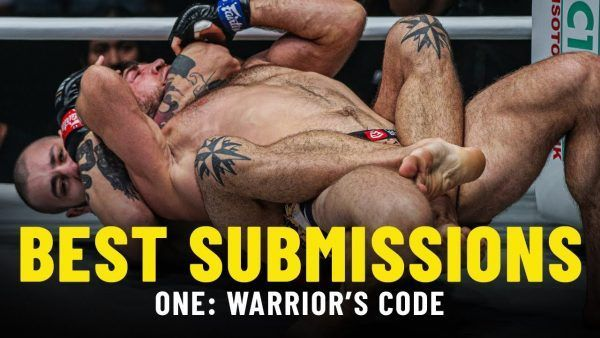 Iuri Lapicus sinks in a rear-naked choke on Marat Gafurov to get the impressive victory at ONE: WARRIOR'S CODE in Jakarta.