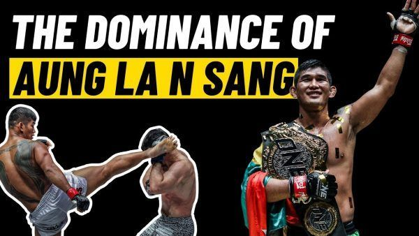 ONE Light Heavyweight and Middleweight World Champion Aung La N Sang has displayed his dominance in becoming a two-weight World Champion.