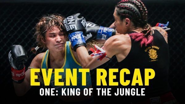 Stamp Fairtex roars back against Janet Todd in their five-round contest at ONE: KING OF THE JUNGLE.