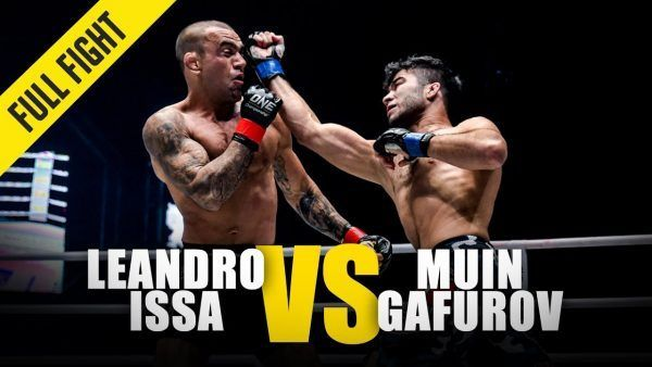 Muin Gafurov displayed his striking power against Leandro Issa at ONE: KINGDOM OF HEROES.
