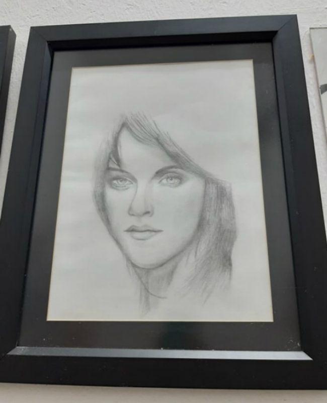 Muhammad Aiman's portrait of Kristen Stewart