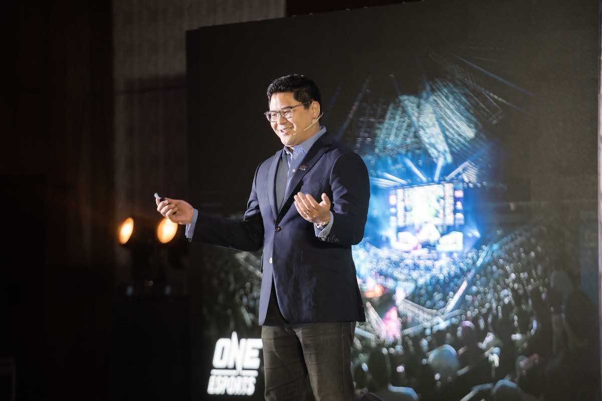 Carlos Alimurung, CEO of ONE Esports