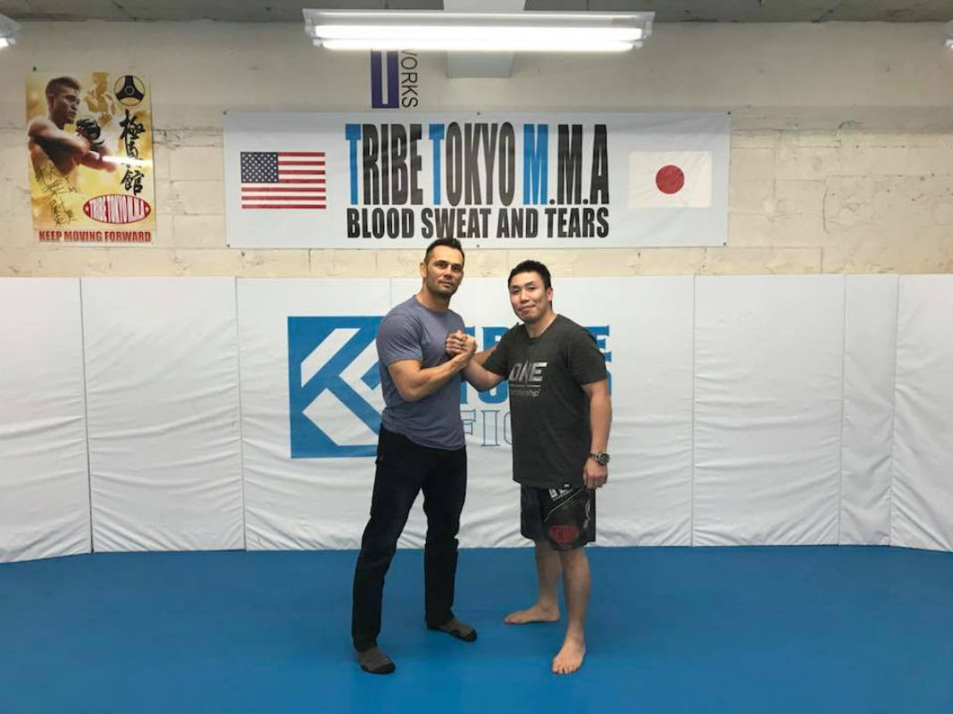 ONE Warrior Series CEO Rich Franklin stops by Tribe Tokyo MMA
