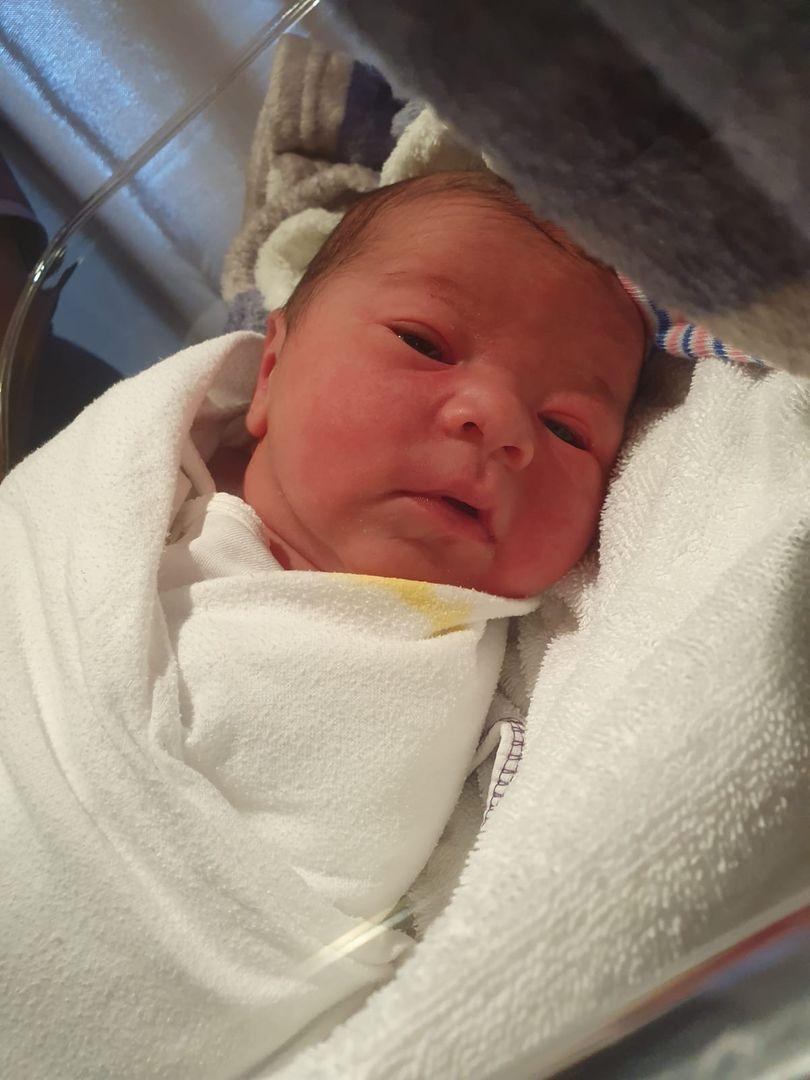 Miesha Tate's newborn son, Daxton Wylder Nunez