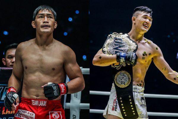 Asian mixed martial arts heroes Eduard Folayang and Christian Lee