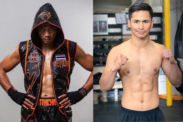 Thailand's kickboxing superstars Sitthichai Sitsongpeenong and Superbon