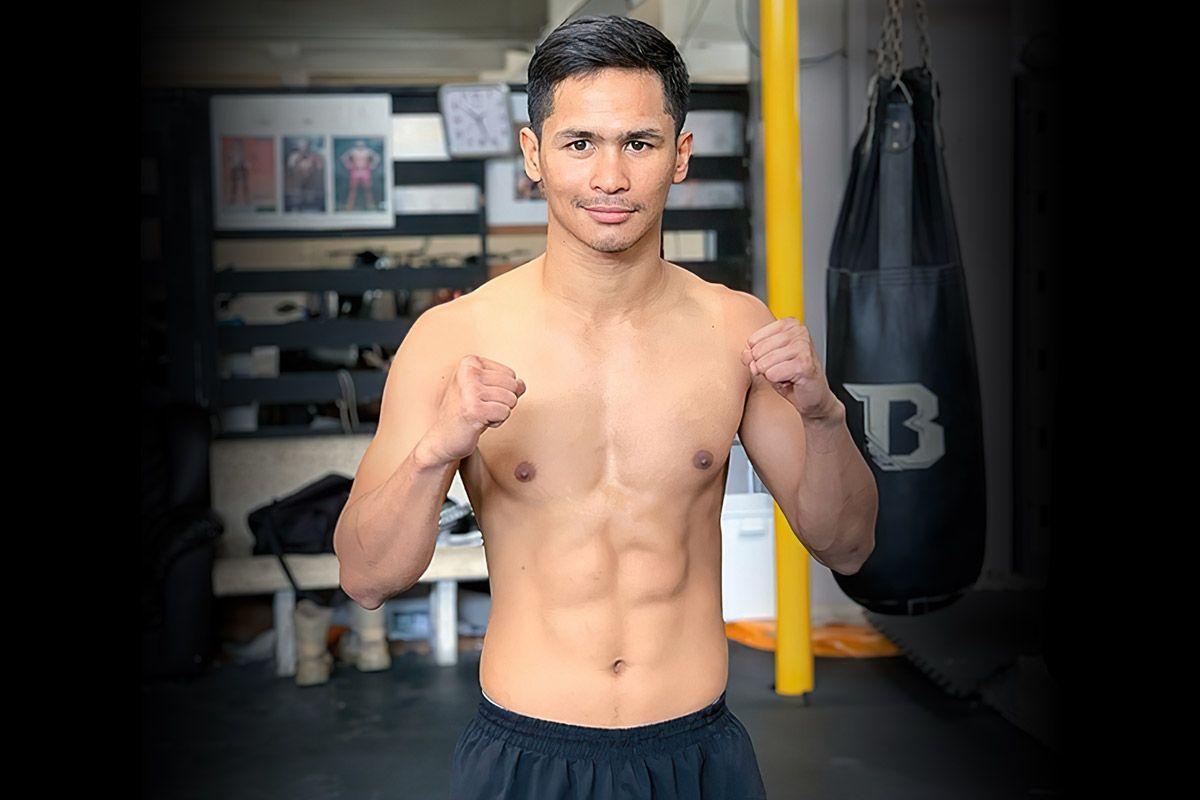Thai kickboxing star Superbon