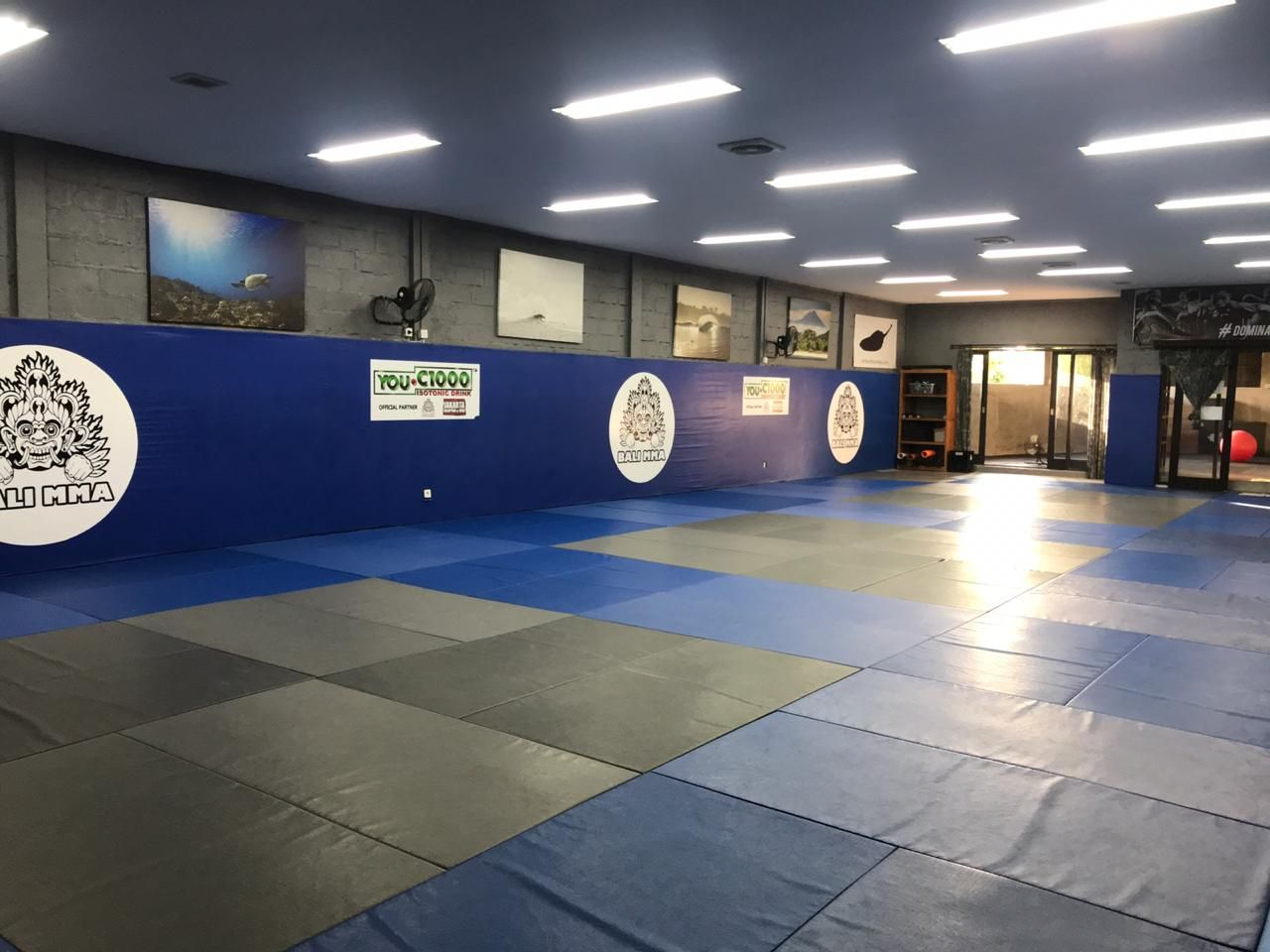 The renovated Bali MMA gym in Indonesia, finished in 2020