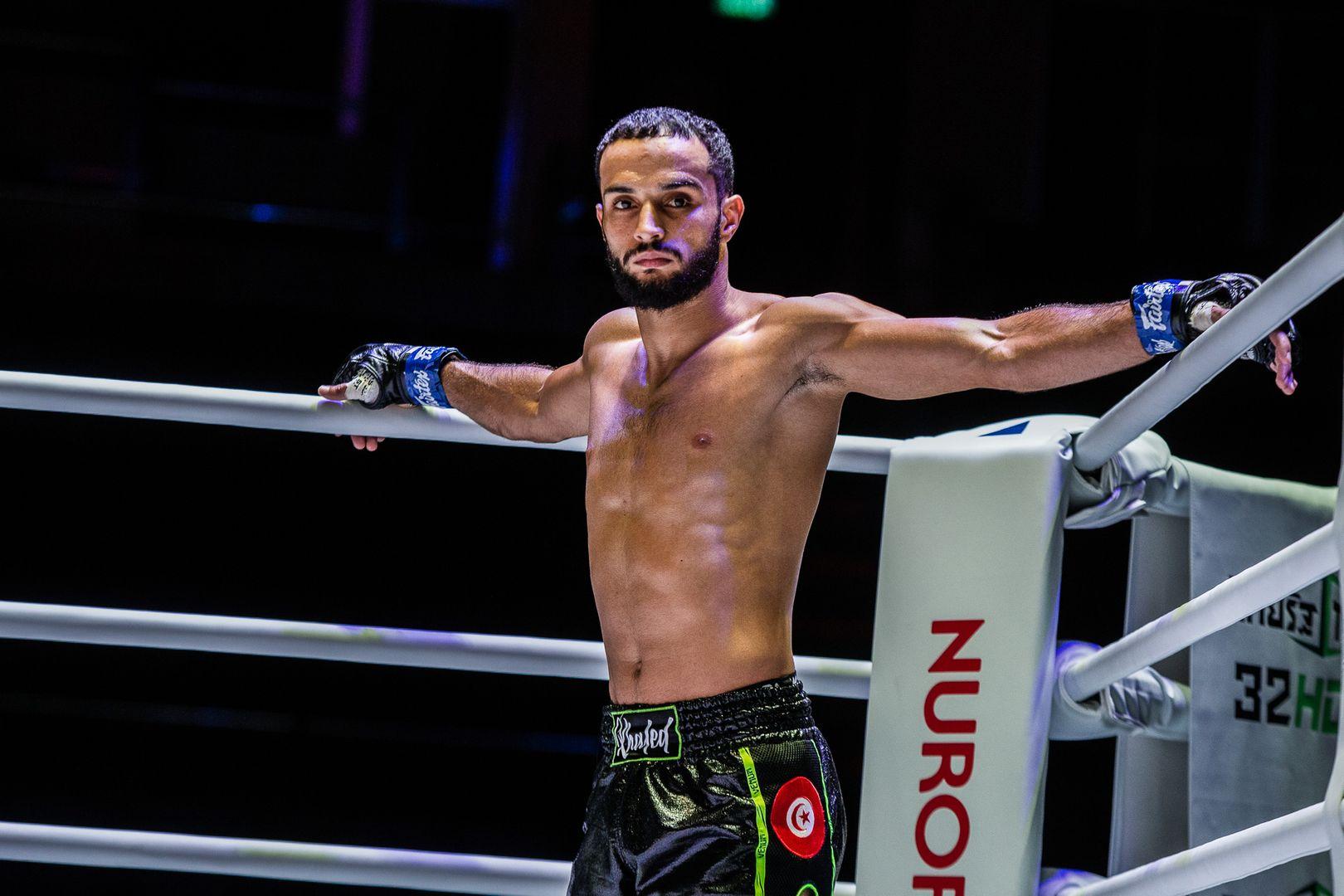 Tunisian Muay Thai fighter Fahdi Khaled