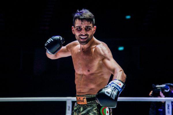 French-Algerian Muay Thai striker Mehdi Zatout