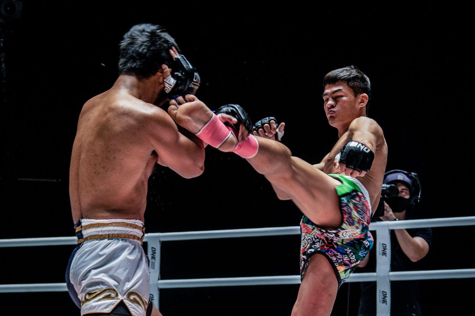 Muay Thai fighter Saemapetch Fairtex